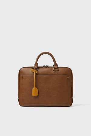 Zara Basic briefcase