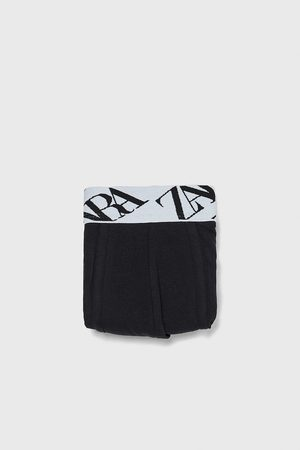 Zara BOXERS WITH SLOGAN WAISTBAND