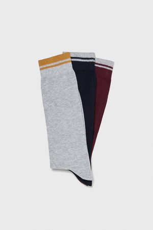Zara PACK OF RIBBED SOCKS