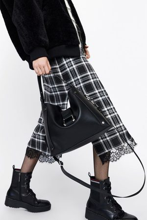 Zara TOTE BAG WITH MAXI BUCKLE