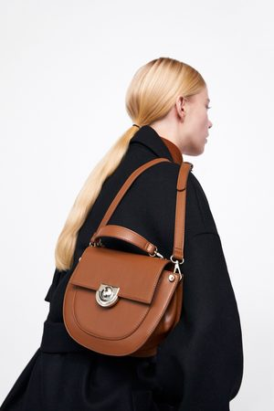 Zara SMALL OVAL CROSSBODY BAG