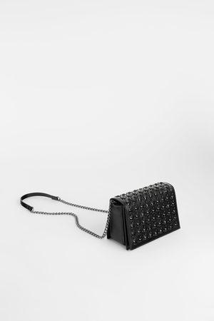 Zara SHINY CROSSBODY BAG