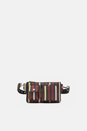Zara STRIPED BELT BAG