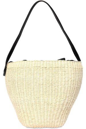 SENSI STUDIO Naiset Olkalaukut - Medium Straw Shoulder Bag