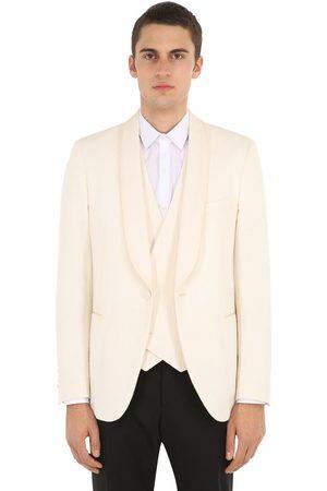LARDINI Miehet Takit - Cotton Blend Smoking Jacket