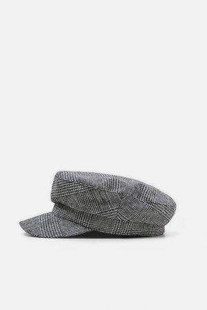 Zara CHECKED NAUTICAL CAP