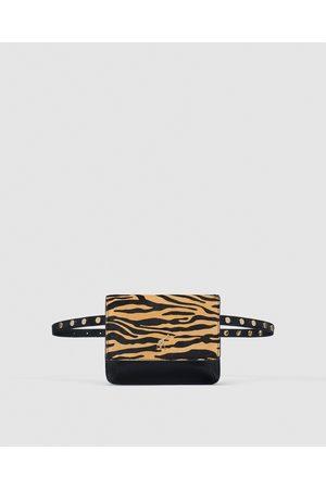 Zara PRINTED BELT BAG