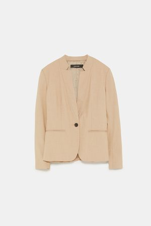 Zara INVERTED LAPEL BLAZER