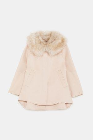 Zara TEXTURED CAPE COAT