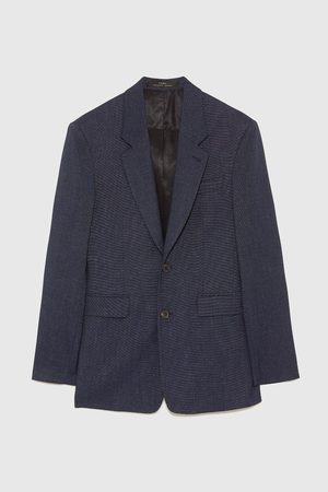Zara TWO-TONE SUIT BLAZER
