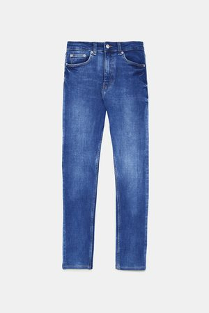 Zara ZW PREMIUM HIGH WAIST BI-STRETCH OLD JEANS