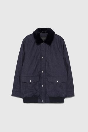 Zara SARTORIAL DENIM JACKET