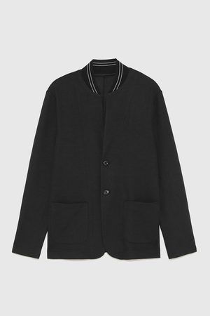 Zara BLAZER WITH BOMBER COLLAR