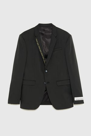 Zara TECHNICAL BLAZER WITH TAPING