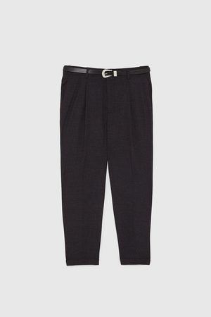 Zara TROUSERS WITH BELT