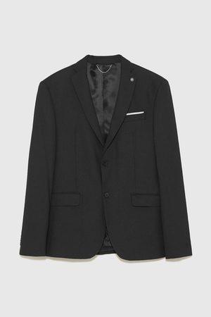 Zara Birdseye suit blazer