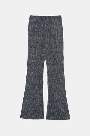 Zara RIBBED TROUSERS