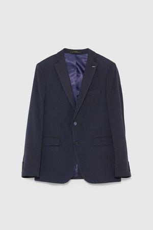 Zara Miehet Bleiserit - Textured suit blazer