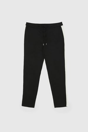 Zara Miehet Joggersit - Jogging trousers with side stripes