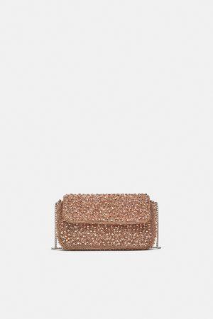 Zara BEADED CROSSBODY BAG