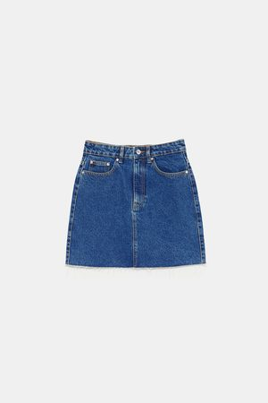 Zara AUTHENTIC DENIM MINI SKIRT