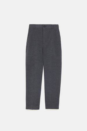 Zara SOFT-TOUCH SKINNY TROUSERS