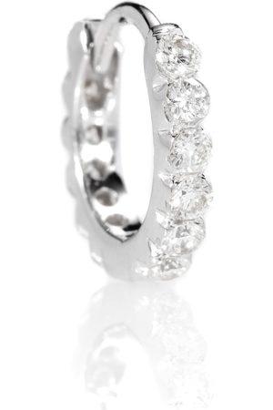 Maria Tash Naiset Korvakorut - Diamond Invisible Set Eternity 18kt gold earring