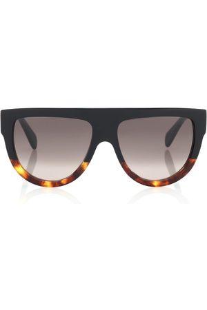 Céline Naiset Aurinkolasit - Aviator acetate sunglasses