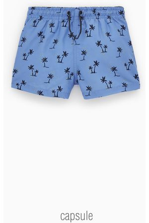 Zara PALM TREE BERMUDA SHORTS