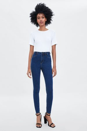 Zara HI-RISE SHAPER JEGGINGS WITH SIDE TAPING