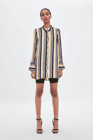 Zara Long striped shirt