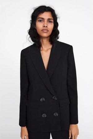 Zara Double-breasted blazer