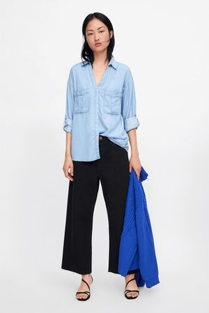 Zara Denim shirt with pockets