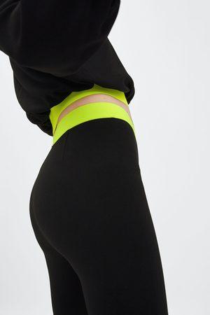 Zara Stretch cycling trousers