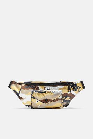 Zara Camouflage maxi crossbody belt bag