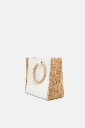 Zara Natural tote bag