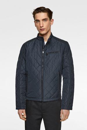 Zara Quilted biker jacket
