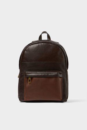 Zara Brown backpack