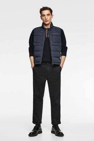 Zara Puffer gilet with pockets