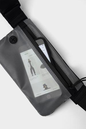 Zara Translucent touchscreen sporty belt bag