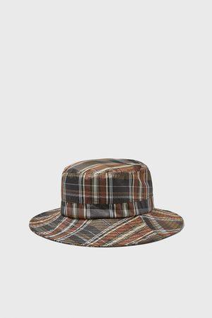 Zara Soft check hat