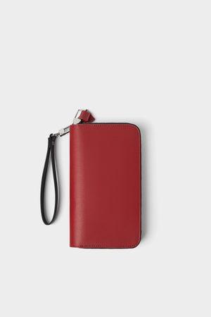 Zara Xl wallet with double zip