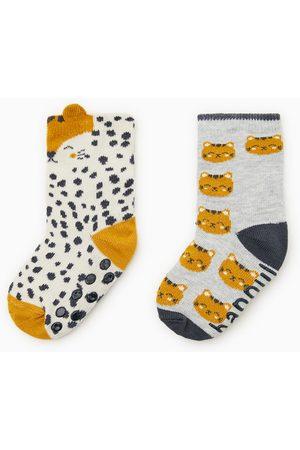 Zara 2-pack tiger socks