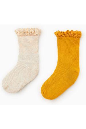 Zara 2-pack of lace trim socks