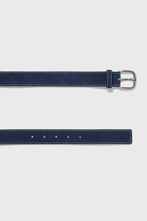 Zara Split suede finish belt