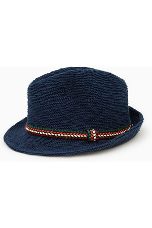 Zara Woven brimmed hat with band