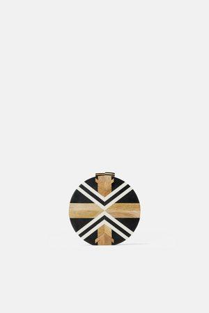 Zara Wooden crossbody bag