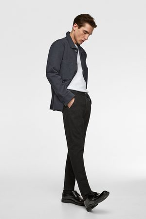 Zara Denim chino trousers