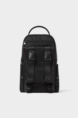 Zara Backpack with slogan