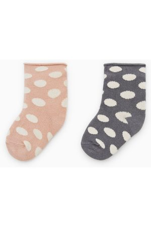 Zara 2-pack of polka dot socks